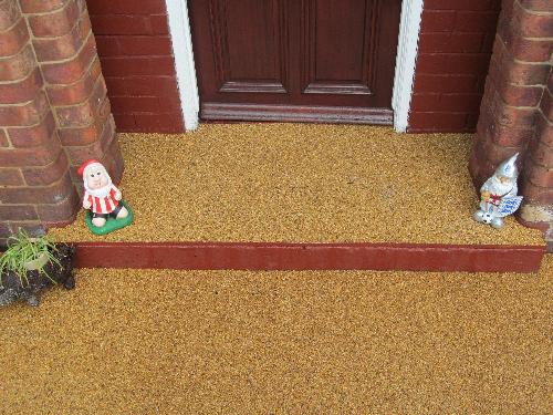 Gravel paving screeds resin exteriors Sunderland