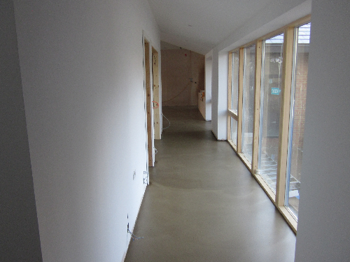 Solacir interiors microscreed flooring Newcastle