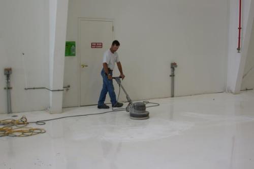 Dust free industrial floor sanding North East England