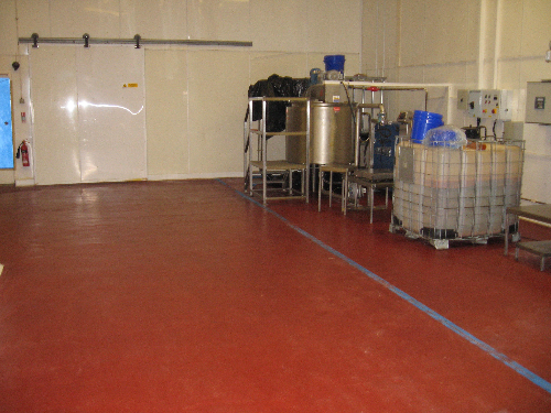 Industrial polyurethane flooring Newcastle Upon Tyne