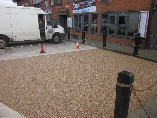 Resin exteriors gravel paving screeds Tyne and Wear