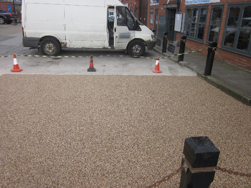 Resin exteriors pathways paving surfaces Tyne and Wear