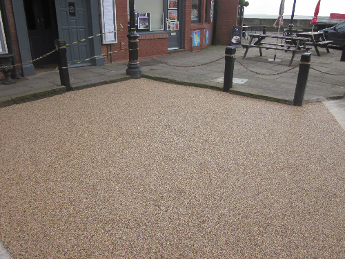 Exterior resin flooring paving surfaces Tyne and Wear