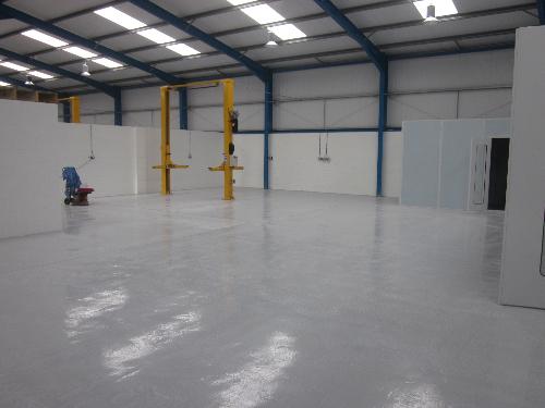 High build floors epoxy coatings North East England