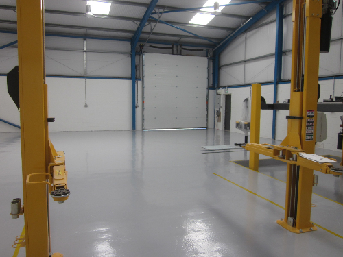 High Build Epoxy Floor Coating