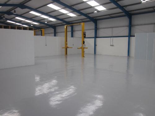 North East garage concrete epoxy floor paint coatings