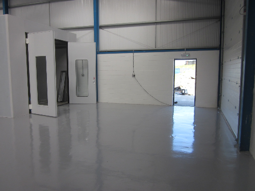High performance epoxy resin flooring Redcar Cleveland
