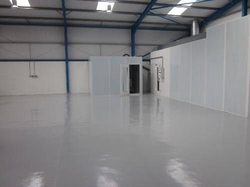 Concrete floor paints coatings sealers North East