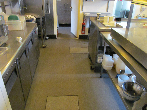 Defective vinyl flooring Cramlington Northumberland