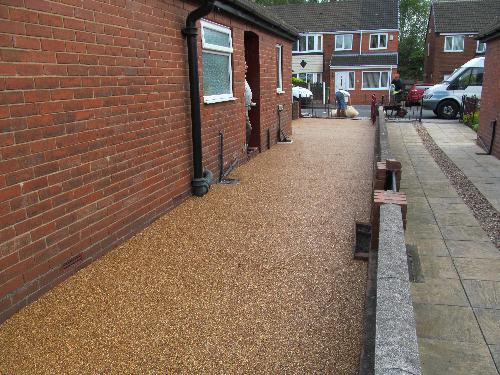 Resin exteriors gravel floor screeds Fulwell Sunderland