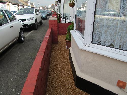 Resin Exteriors gravel floor screeding North Shields