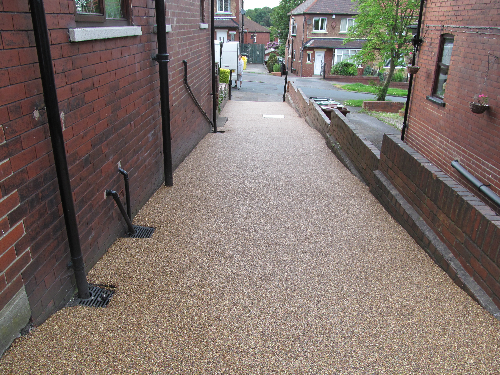 Resin exteriors paving Newcastle Upon Tyne