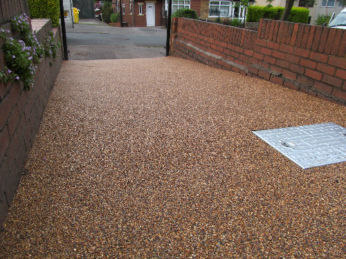 Resin bound gravel surfaces Northumberland