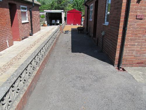 Resin exteriors gravel floor screeds Sunderland South