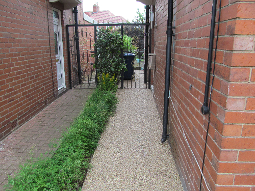North Tyneside Resin Exteriors Gravel Paving Screeds