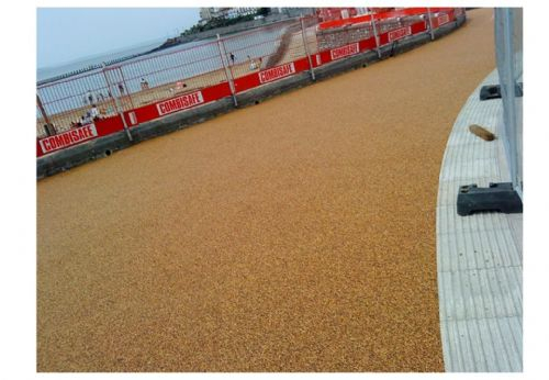 Domestic resin bound surfacing