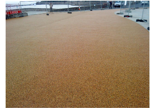 Commercial resin bound paving