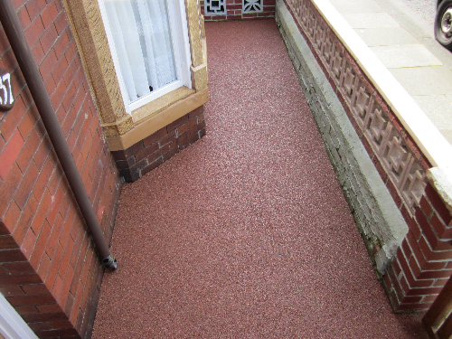 Residential Resin Bound Surfacing North East England