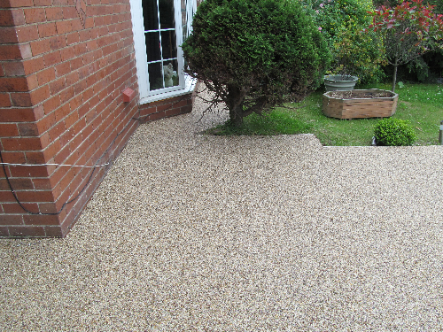 Gravel floor screeds exterior resin surfaces Newcastle