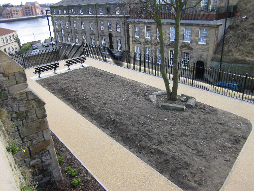 Commercial resin paving North Shields Tyne and Wear