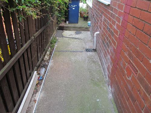Concrete pathway resurfacing South Tyneside
