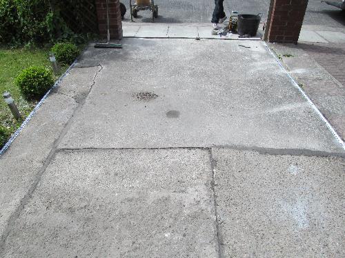 Concrete driveway resurfacing Resin Flooring North East