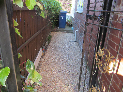 Gravel paving screeds Newcastle Upon Tyne
