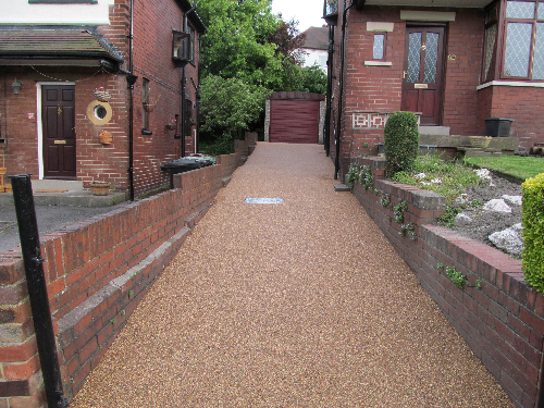 Resin exteriors driveways Newcastle Upon Tyne