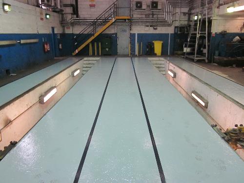 Epoxy resin paint sealer concrete floors North East