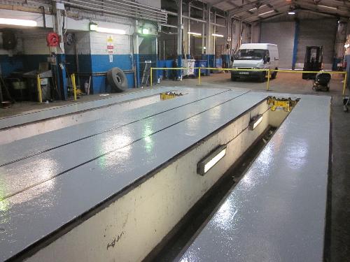 Garage epoxy floor coatings County Durham