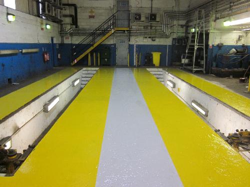 Epoxy flooring Durham
