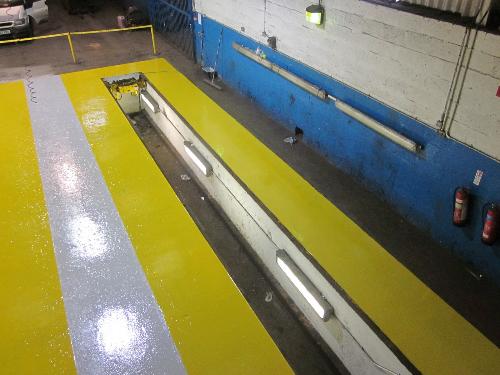 Indutrial resin flooring Durham