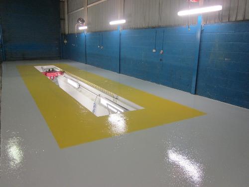Gargage resin floor coatings Sunderland Tyne and Wear
