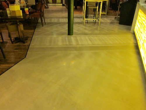 Microscreed floors Staffordshire North West England