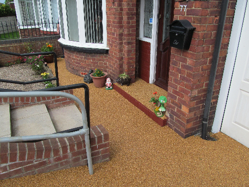 Resin Paving Sunderland Tyne and Wear