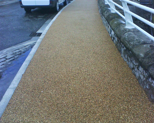 Decorative Commercial Resin Paving North East England