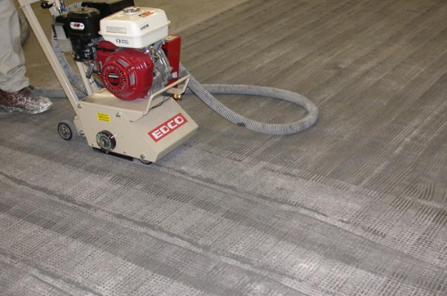 Dust free concrete floor scarifying North East England