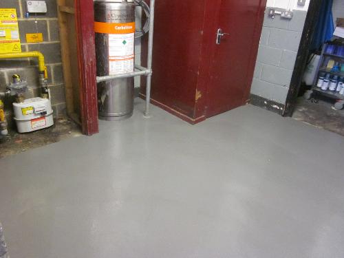 Commercial resin flooring North Shields Tyneside