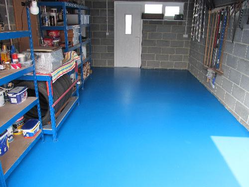 Liquid epoxy resin garage coatings Newcastle Upon Tyne