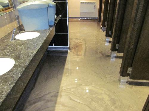 Poured Resinous Flooring Commercial Kitchen