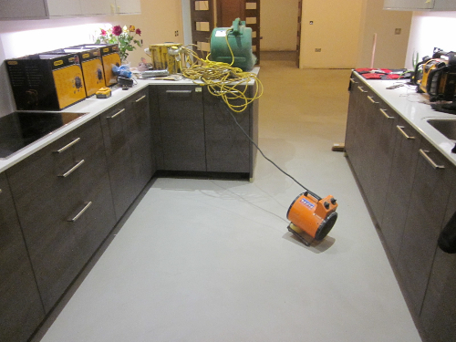 Microscreed floors residential property County Durham