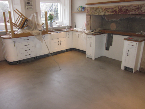 Solacir microscreed installation Westgate Newcastle
