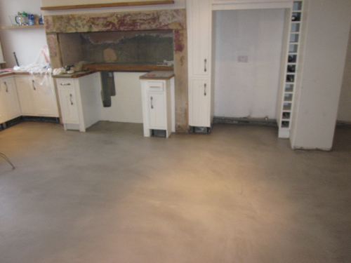 Residential microscreed installation Westgate Newcastle