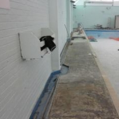 Anti slip swimming pool flooring North East and Cumbria
