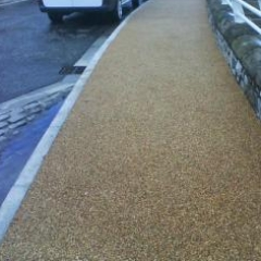 Resin Bound Stone Surfacing North East England