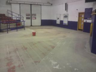Dust free concrete floor grinding Newcastle Upon Tyne