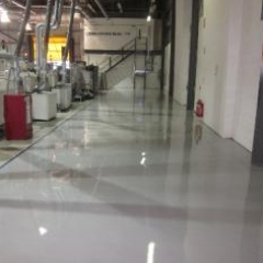 Seamless anti static resin flooring North East England