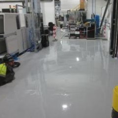 Flowable epoxy floor screeds resin flooring North East