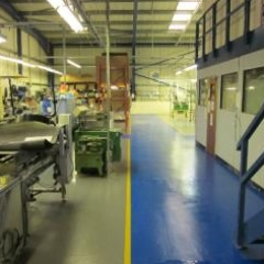 Protective concrete floor coatings North East England
