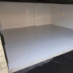 Residential Garage Floor Painting County Durham